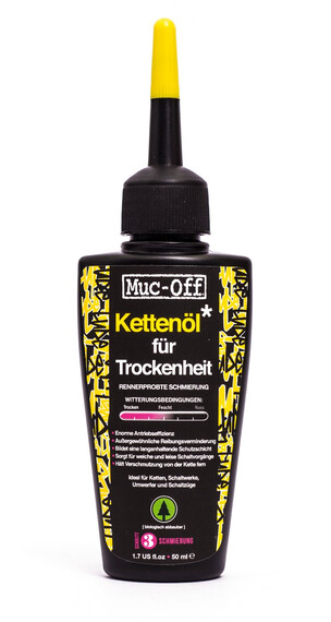 Muc-Off Dry Lube Smeermiddel 20 ml zwart